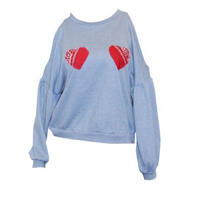 Blue Heart Top