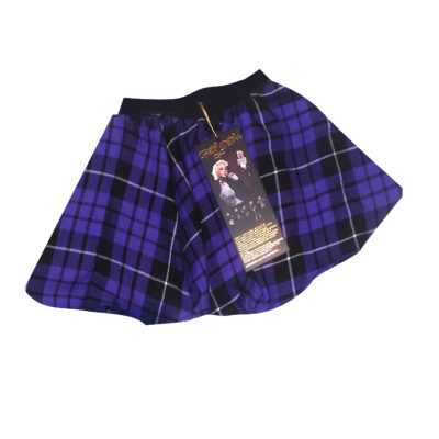 cut out kids purpls skirt