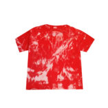 cut out back red kids top