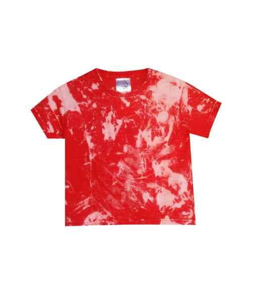 cut out red tee kids